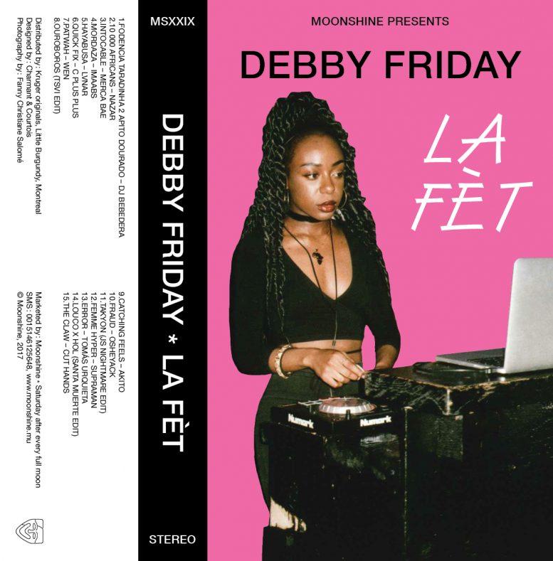Moonshine presents Debby Friday on Thump – La Fèt