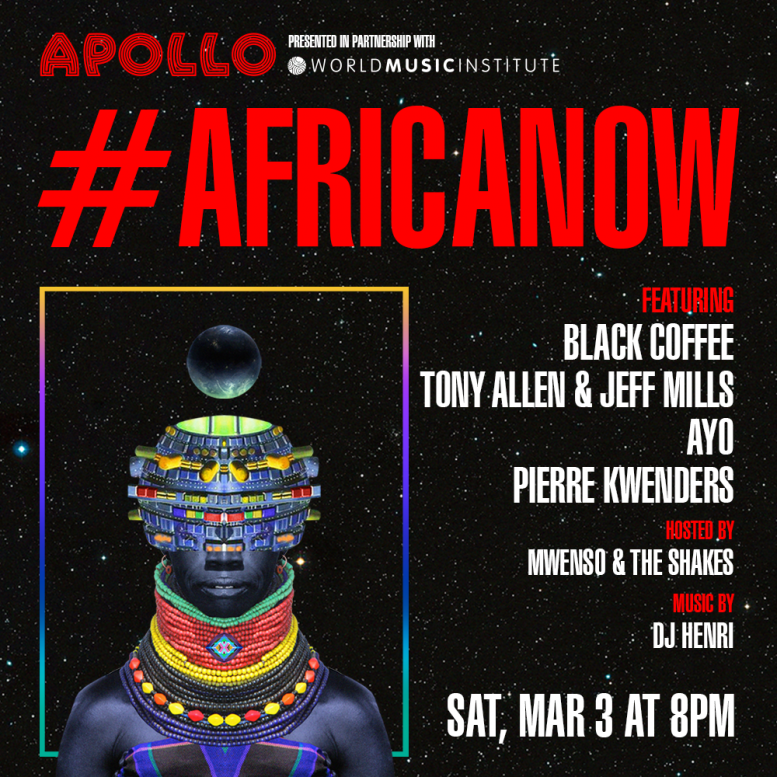 Pierre Kwenders x Africa Now