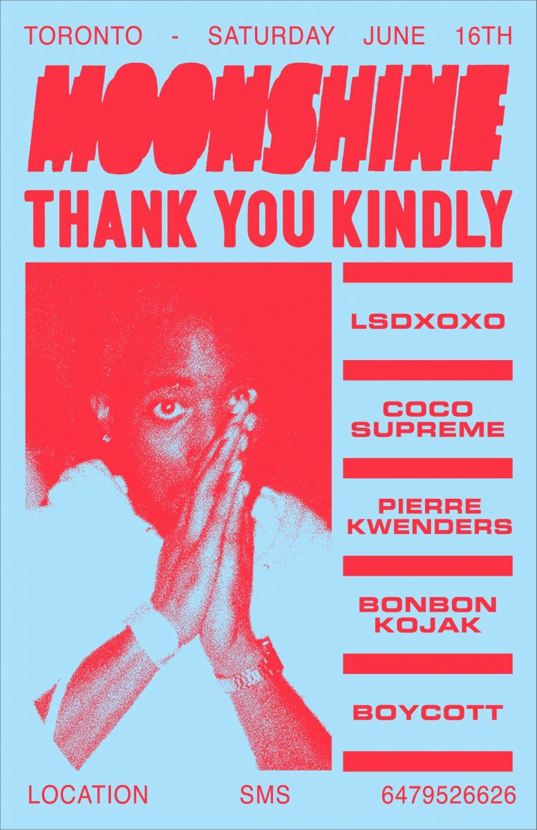 Moonshine x Thank You Kindly