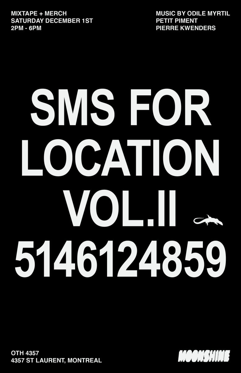 Pop-up Shop SMS for Location Vol.2