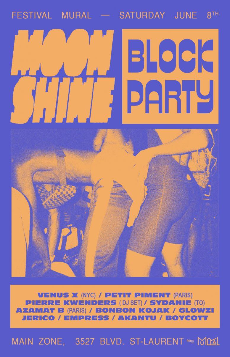 Moonshine Block Party x MURAL