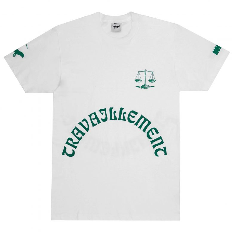 Travaillement Tee – White