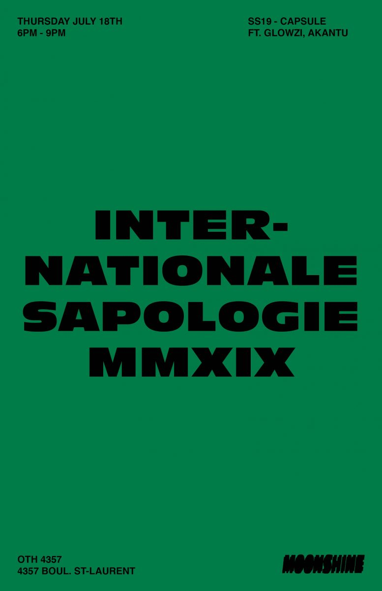 Internationale Sapologie 2019 – Moonshine Pop-up Shop