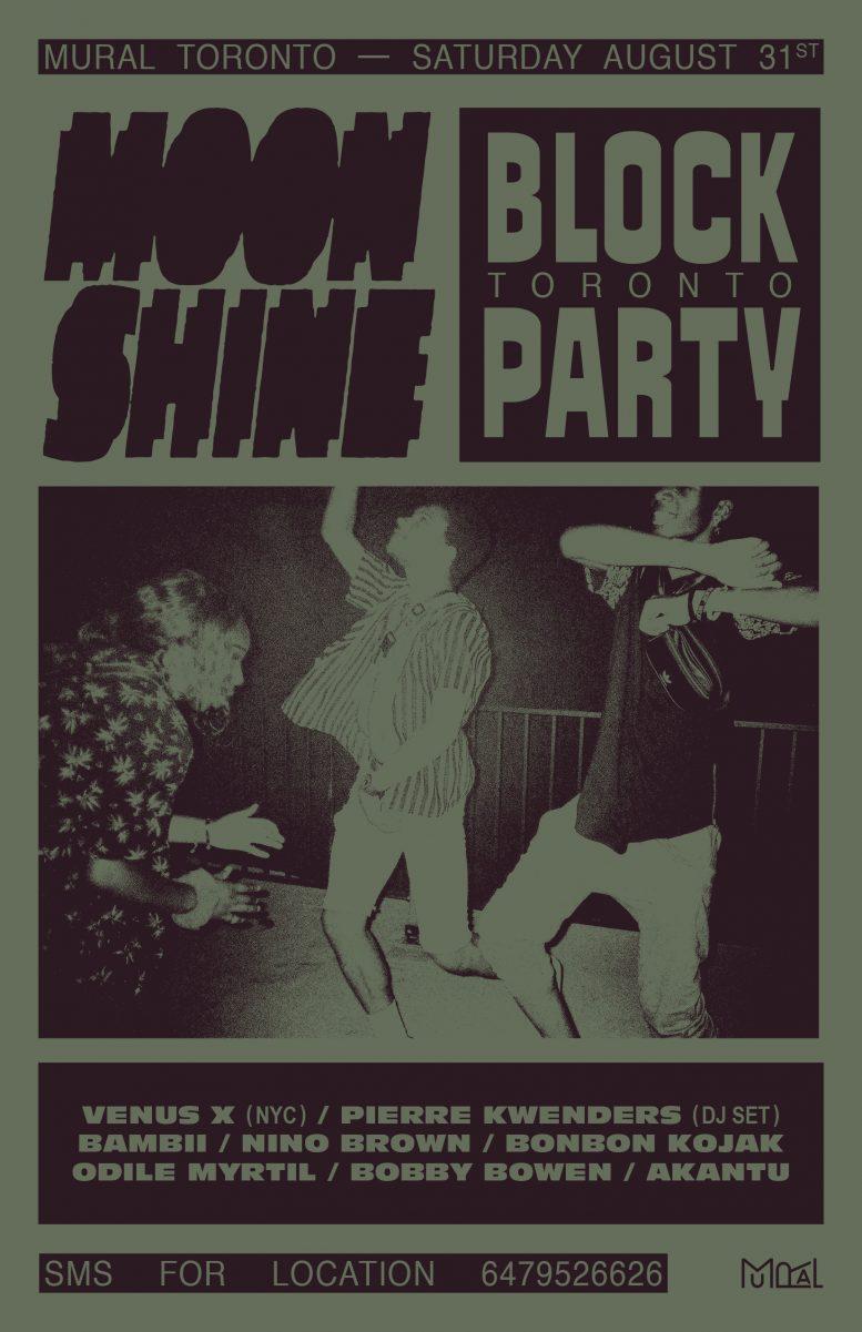 Moonshine Block Party x MURAL Toronto