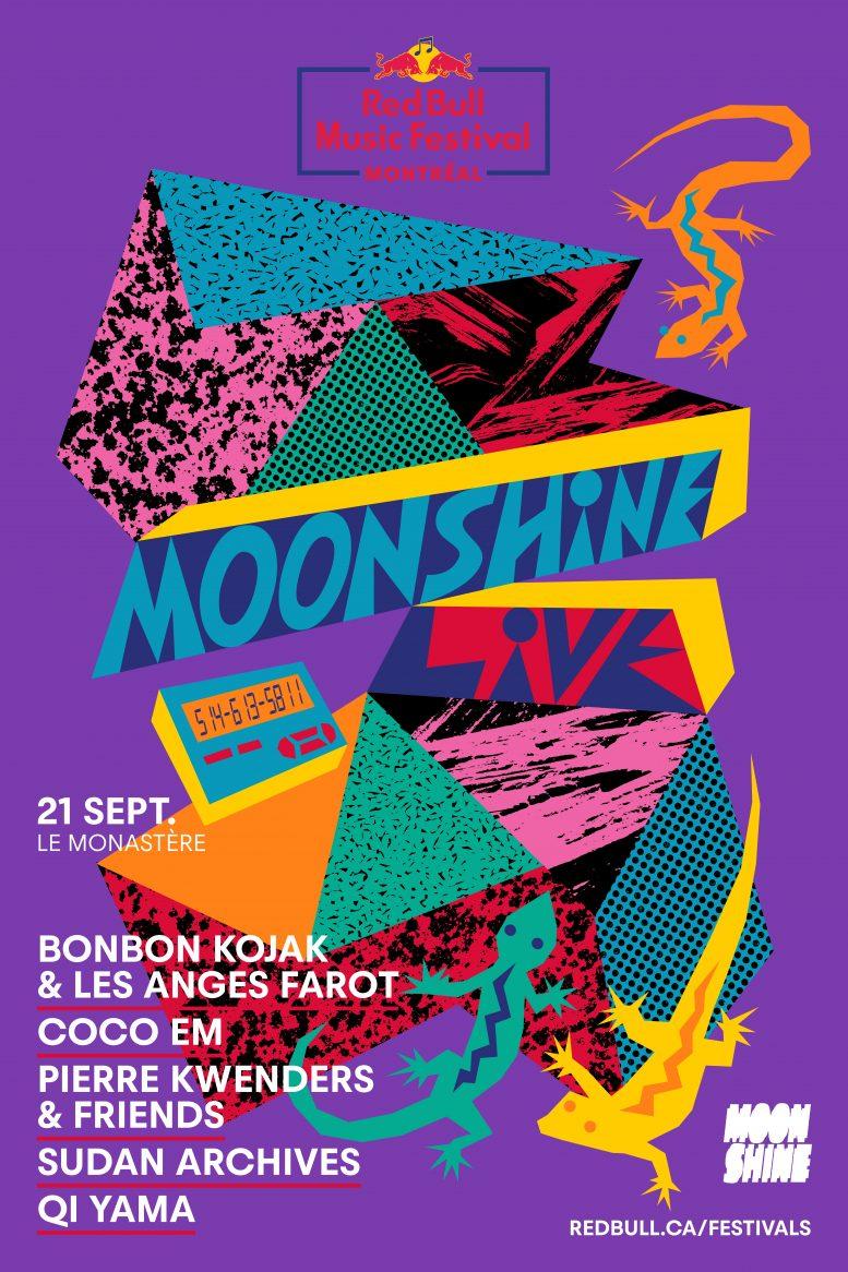 Moonshine Live x Red Bull Music Festival Montréal