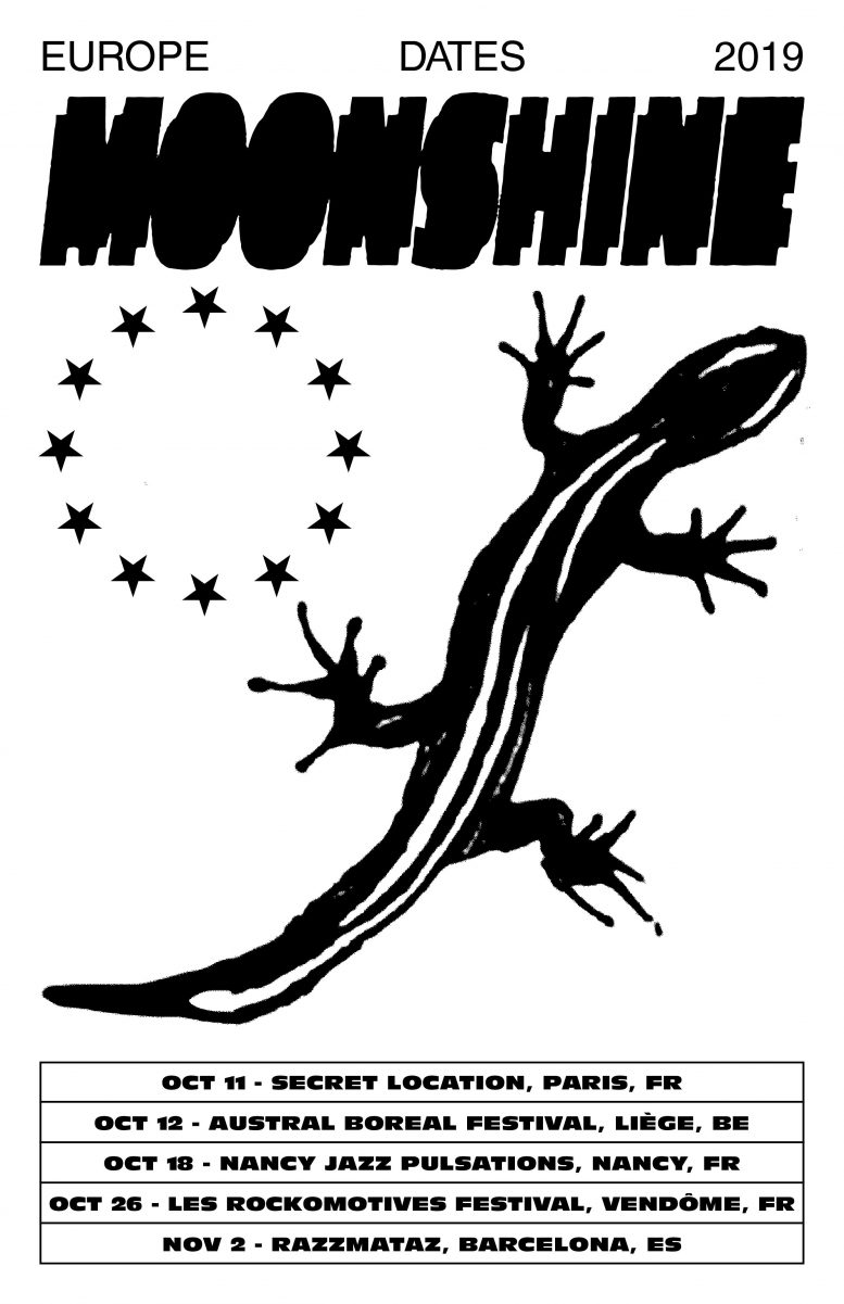 Moonshine Euro Dates Fall 2019