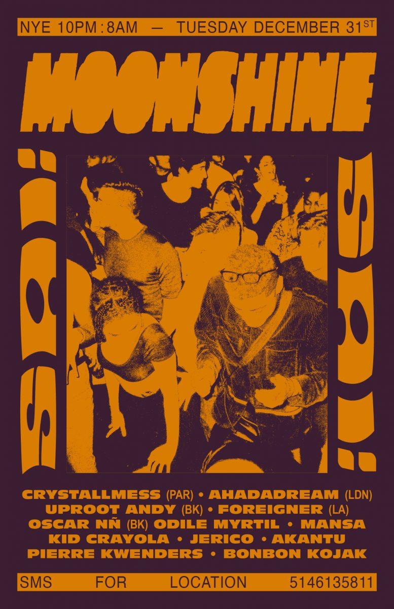 Moonshine SAÏ SAÏ – NYE Special