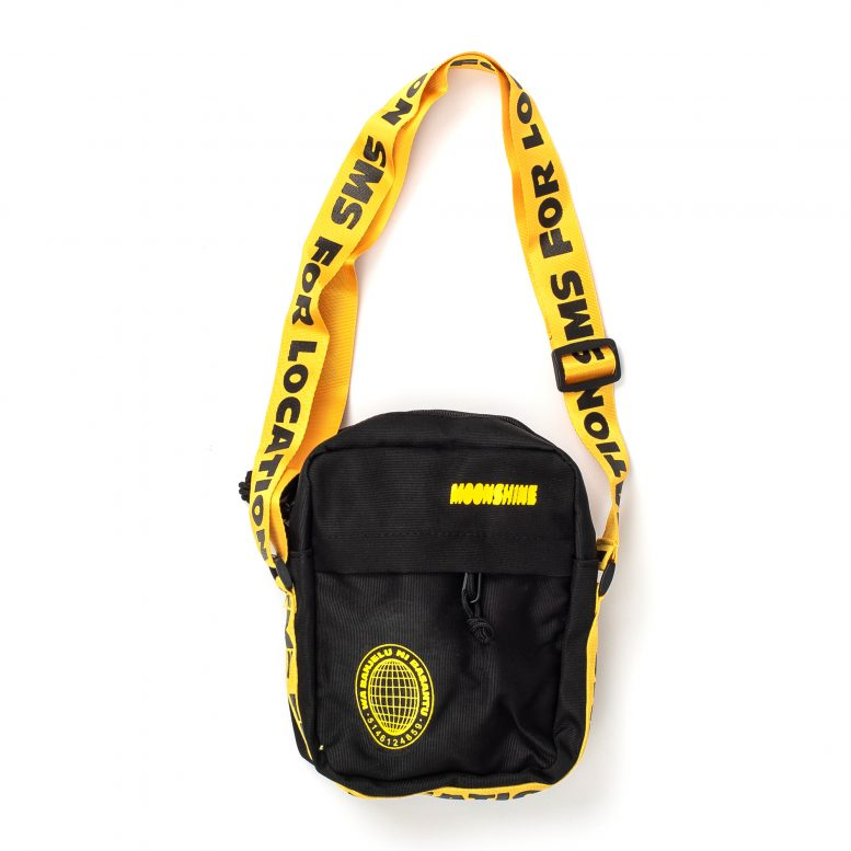 Petite Ya Quartier Fanny Pack – Black/Yellow
