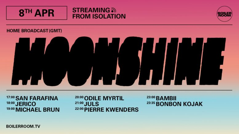 Boiler Room : Streaming from Isolation with Moonshine