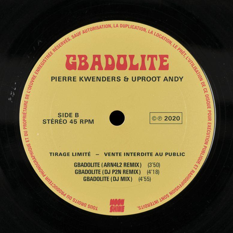 Gbadolite B-Sides