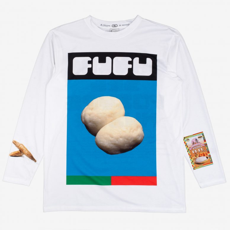 FUFU Long Sleeve Tee White