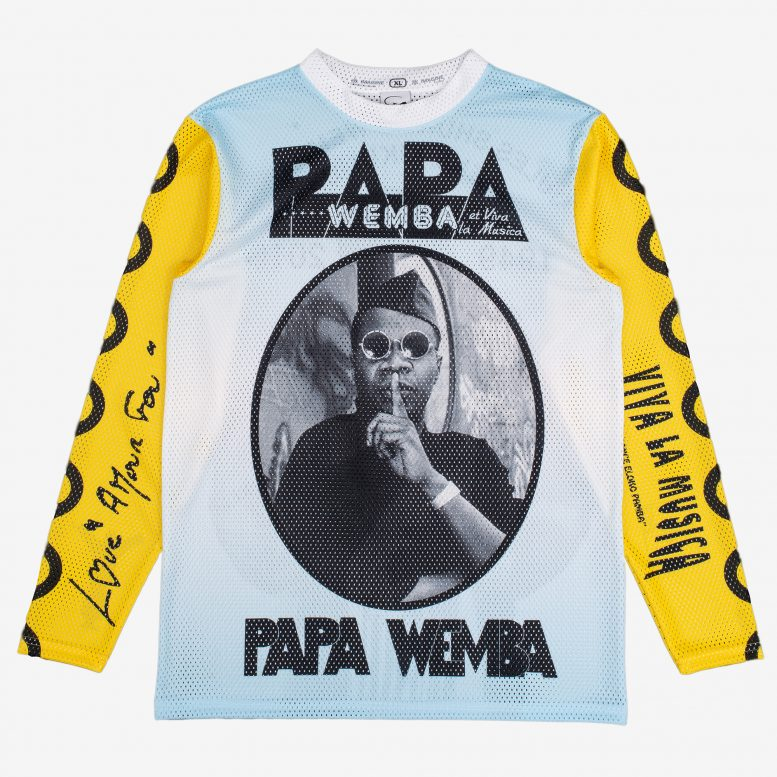 Papa Wemba Long Sleeve Tee Multi