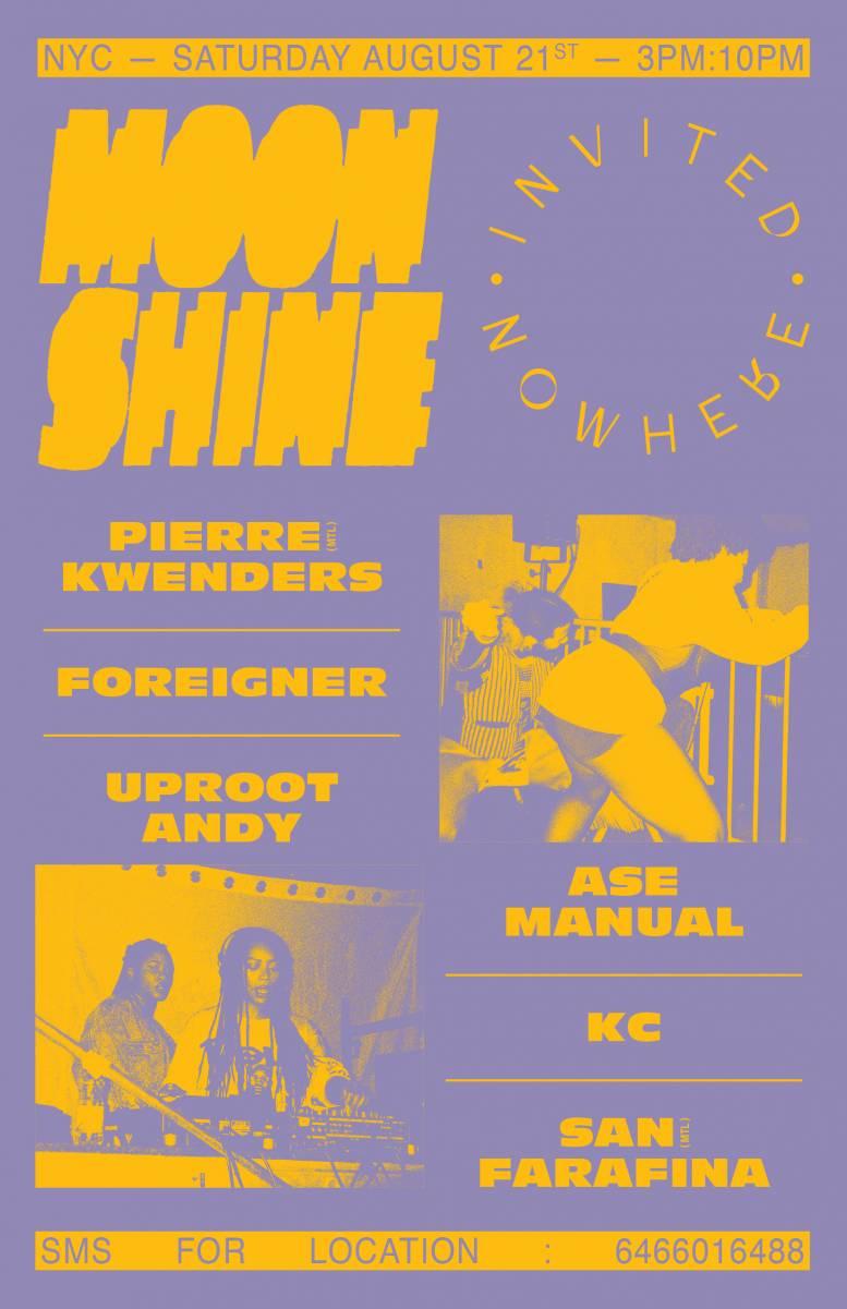 Moonshine x Invited Nowhere